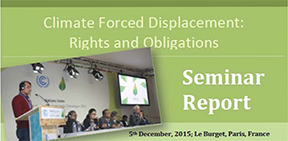 COP21_Climate forced displacement Rights and Obligations_ Semina